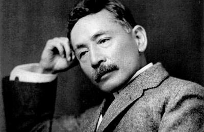 夏目漱石 と 長野県   佐久の柵に桜咲く